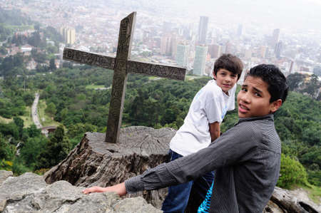 deceased:   Cerro de Monserrate   ( 3152 m)  in  BOGOTA. Department of Cundimarca. COLOMBIA
