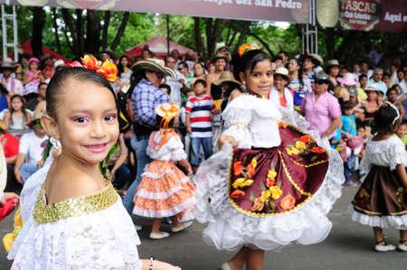 """ Festival folclorico del Bambuco "" ( San Pedro y San Juan ) in NEIVA. Department of Huila. COLOMBIA"