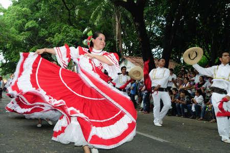 Festival  folclorico del Bambuco  (  San Pedro y San Juan ) in  NEIVA. Department of Huila. COLOMBIA