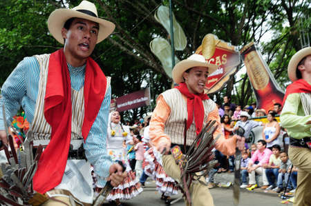 traditional culture:    Festival  folclorico del Bambuco  (  San Pedro y San Juan ) in  NEIVA. Department of Huila. COLOMBIA