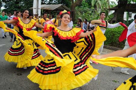 Sanjuanero Huilense  Festival  in  RIVERA . Department of Huila. COLOMBIA