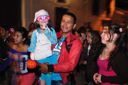huila:  Halloween in San Agustin. Department of Huila. COLOMBIA