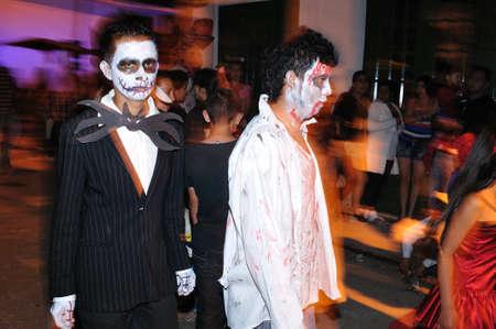 huila: Halloween en San Agustin. Departamento del Huila. COLOMBIA Editorial
