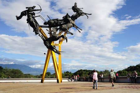 huila: La GAITANA  in  NEIVA. Department of Huila. COLOMBIA Editorial