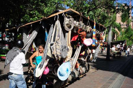 huila: Plaza Santander in  NEIVA. Department of Huila. COLOMBIA