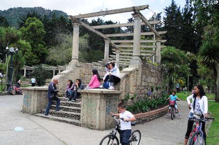 parque: Parque Nacional  Enrique Olaya in BOGOTA Department of Cundimarca COLOMBIA