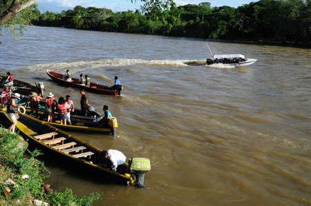 rio: Magdalena River in NEIVA. Department of Huila. COLOMBIA Editorial