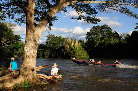huila: Magdalena River in NEIVA. Department of Huila. COLOMBIA Editorial