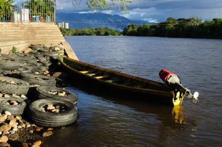 madalena: Magdalena River in NEIVA. Department of Huila. COLOMBIA Editorial