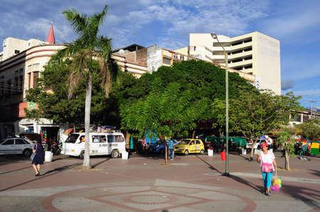 huila: Plaza Civica - Los Libertadores en Neiva. Departamento del Huila. COLOMBIA Editorial