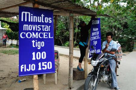 huila: Phone calls per minute in  RIVERA . Department of Huila. COLOMBIA