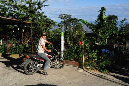 huila: Granja en RIVERA. Departamento del Huila. COLOMBIA Editorial