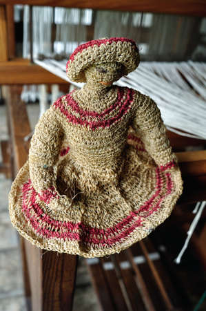 san agustin: Craft Loom - Fundacion BATAN en San Agustin. Departamento del Huila. COLOMBIA