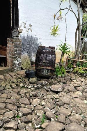 san agustin: Fundacion BATAN en el Departamento de Huila COLOMBIA San Agustin Foto de archivo