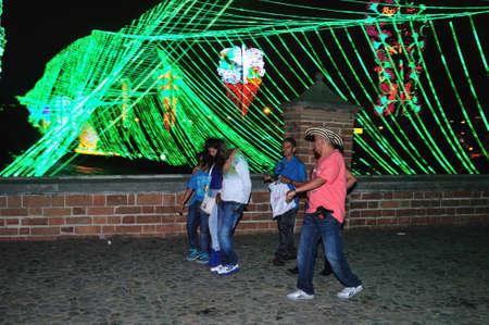antioquia: Alumbrado 2013 - Cristmas Lighting in MEDELLIN .Department of Antioquia. COLOMBIA