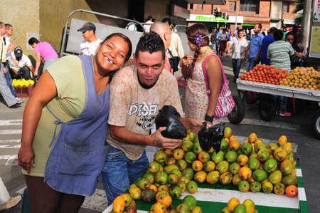 antioquia: Tejelo Market in MEDELLIN .Department of Antioquia. COLOMBIA