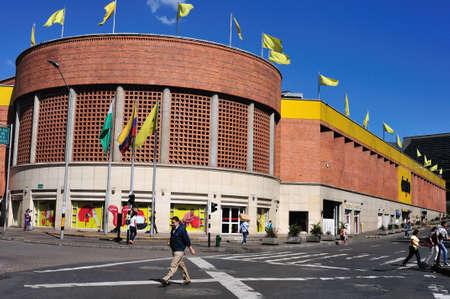 antioquia: Exito shopping centre in SAN ANTONIO district -  Center of  MEDELLIN .Department of Antioquia. COLOMBIA   Editorial