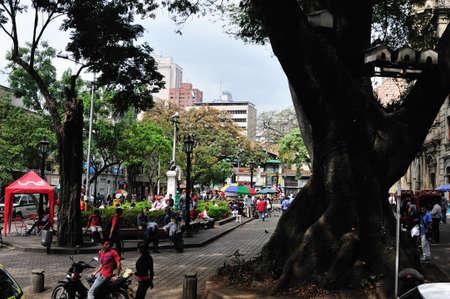 ignacio: Parque SAN IGNACIO- Center of  MEDELLIN  Department of Antioquia  COLOMBIA