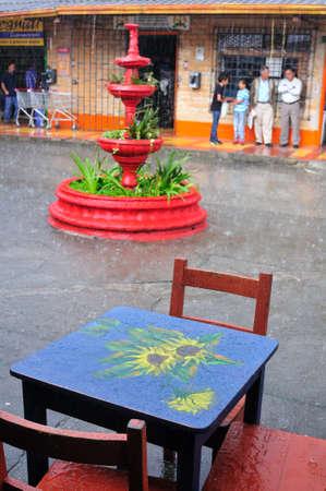 antioquia:  Square in SANTA ELENA   Department of Antioquia  COLOMBIA