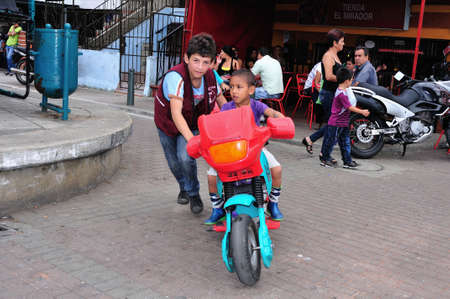 comunas: Motorcycle for rent - Santo Domingo district  in MEDELLIN .Department of Antioquia. COLOMBIA