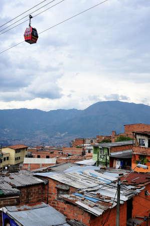 savio:  Santo Domingo district in MEDELLIN .Department of Antioquia. COLOMBIA Editorial