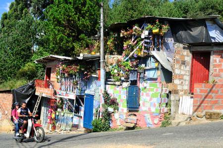 Santo Domingo district  in MEDELLIN .Department of Antioquia. COLOMBIA Stock Photo - 23141270