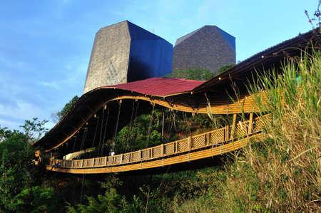savio: Biblioteca Espa�a -  Santo Domingo district  in MEDELLIN .Department of Antioquia. COLOMBIA