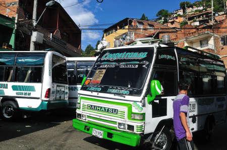 Santo Domingo district  in MEDELLIN .Department of Antioquia. COLOMBIA Stock Photo - 23140921