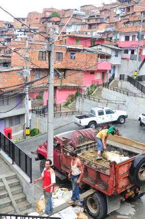 COMUNA 13 - 20 de Julio district  in MEDELLIN .Department of Antioquia. COLOMBIA Stock Photo - 23155992