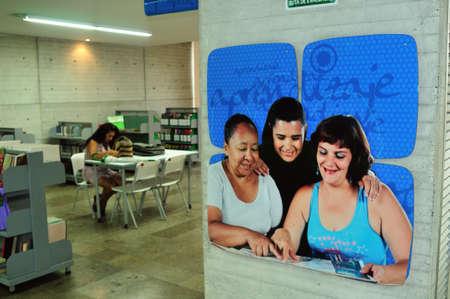 architectural studies:  Parque Biblioteca Leon de Greiff -  Comuna 8  in MEDELLIN .Department of Antioquia. COLOMBIA