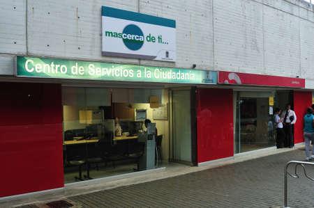 comuna: Citizen service office of municipality - Parque Biblioteca Leon de Greiff -  Comuna 8  in MEDELLIN .Department of Antioquia. COLOMBIA