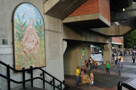 antioquia: Metro Cisneros -  Center of  MEDELLIN .Department of Antioquia. COLOMBIA   Editorial