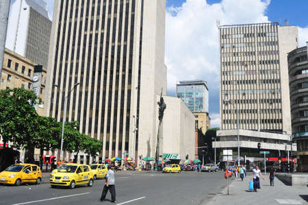 medellin: Parque Berrio -  Center of  MEDELLIN .Department of Antioquia. COLOMBIA   Editorial
