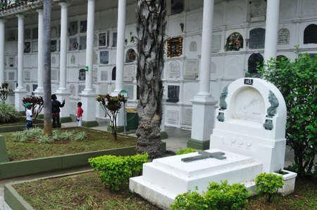antioquia:  Museum Cemetery San Pedro in MEDELLIN .Department of Antioquia. COLOMBIA