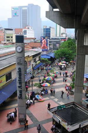antioquia: Train Station SAN ANTONIO -  Center of  MEDELLIN .Department of Antioquia. COLOMBIA