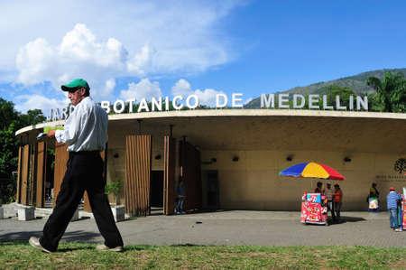antioquia: Guarapo seller ( sugarcane ),Jardín Botánico de Medellín - Joaquín Antonio Uribe in  MEDELLIN .Department of Antioquia. COLOMBIA