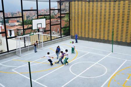 Juan XXIII school - San Javier district in MEDELLIN .Department of Antioquia. COLOMBIA