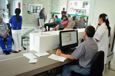 medical attention: Centro de Salud en la Comuna 13 a 20 de Julio de distrito en Medell�n Departamento de Antioquia.. COLOMBIA