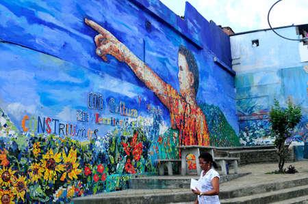 antioquia:  MORAVIA district in MEDELLIN .Department of Antioquia. COLOMBIA Editorial