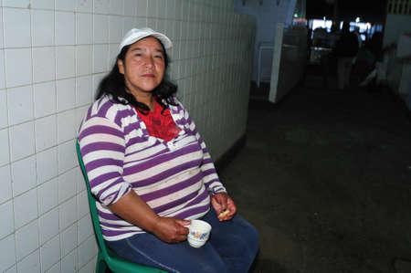 san agustin: Mercado de San Agust�n. Departamento de Huila.COLOMBIA Editorial