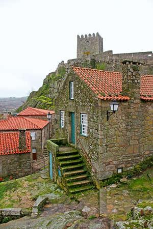 Medieval village of Sortelha in Portugal photo