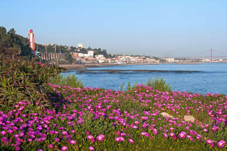 A beautiful view of Lisbon from sun coast Stock Photo - 9446070