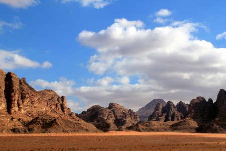 Wadi Rum Desert beautiful landscape  Jordan