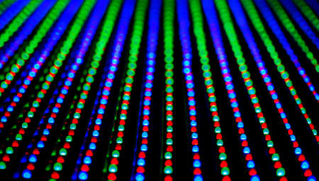 RGB LED screen panel texture photo