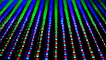 RGB LED screen panel texture