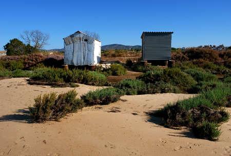 formosa: Ria formosa ecosystem reserve, fishing caban