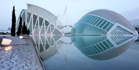 Valencia city of arts, science museum, 3D Cinema