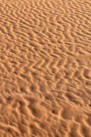 Soil detail of Sossusvlei sand dunes, Namib desert. Namibia photo