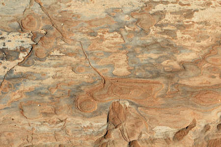 Rock detail, in the Sossusvlei sand dunes, Namib desert. Namibia photo