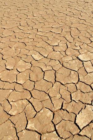 Soil detail of a dry pan, in the Sossusvlei sand dunes, Namib desert. Namibia Banque d'images